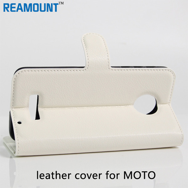 Wholesale for High Quality Flip Leather Case Cover Pouch for MOTO G3 G2 Stand Design Book Style with Card Slots leather case