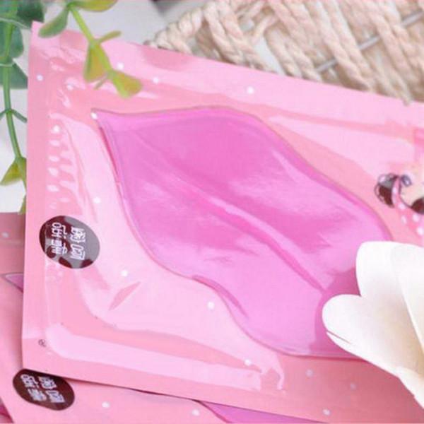 Wholesale-Hot 5x Fashion Collagen Crystal Lip Care Mask Membrane Anti-Ageing Hydrating Lip Gel Mask Moisture Gel Full Lips Enhancer hot