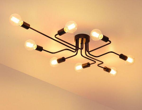 Plafoniere Led Vintage : Acquista plafoniere vintage illuminazione domestica lampada da