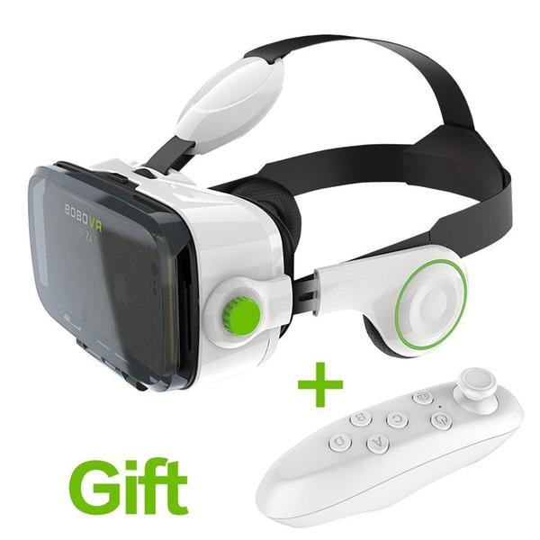 Atacado- Immersive Xiaozhai VR BOBOVR Z4 3D Headset de Realidade Virtual Google Cardboard com controlador Bluetooth