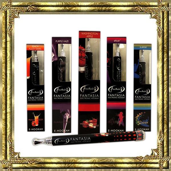 2017 New Fantasia Disposable Cigarette E HOOKAH 800 Puffs Various Fruit Flavors Colorful Pens Electronic Cigarette vape pens wholes