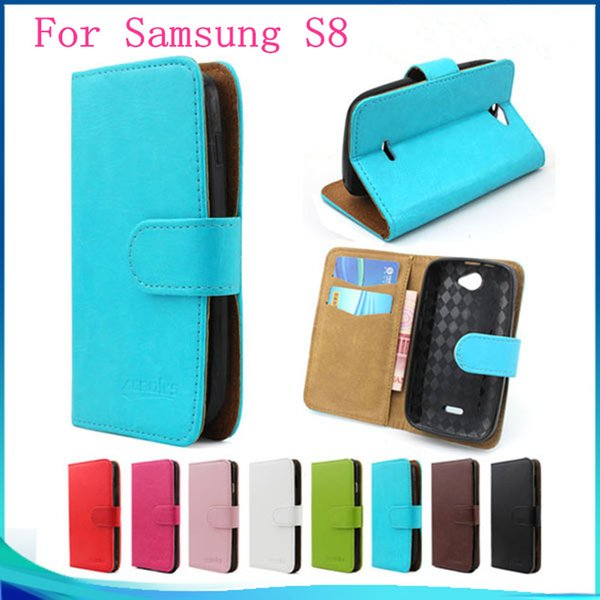 For Huawei P10 Plus P10 For Samsung S8edge S8 Plus S8 Stand Wallet PU Leather Cell Phone Case Cover