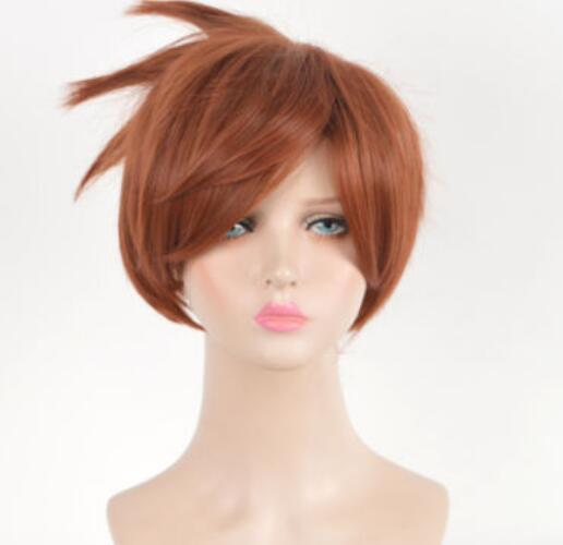 Pixie Cropped Style copper Short Wigs Wig peruca Cosplay Wigs