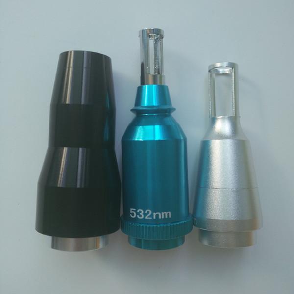 1064nm 532nm puntas de láser de lentes de láser de muñeca negra para la máquina de eliminación de tatuajes 532nm para eliminación de tinta rojo marrón