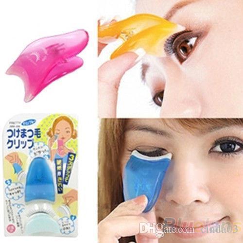 Wholesale- Top Quality Fashion Makeup Cosmetic Tool False Eyelash Fake Eye Lash Applicator Clip AS9 7GV8 8B9K free shipping