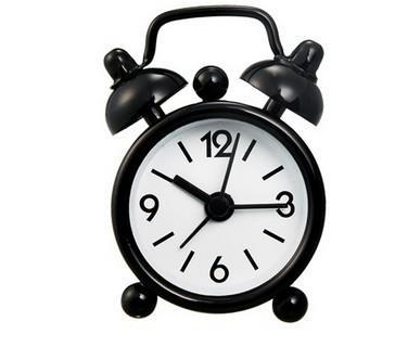 Venta directa de fábrica mini digital pequeño despertador creativo de dibujos animados lindo pequeño regalo reloj color caramelo campana reloj 40 cm