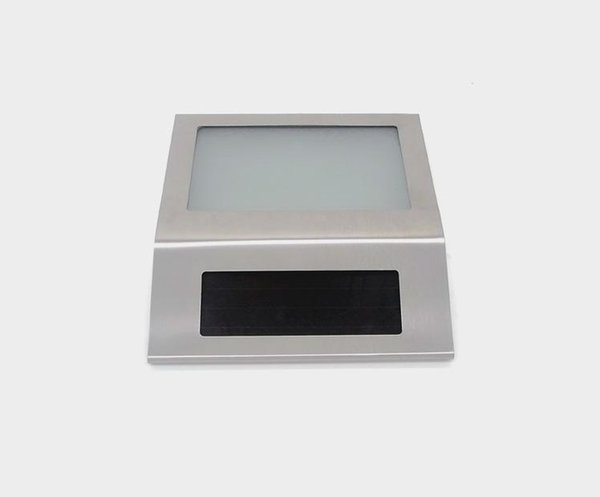LED solar house number light outdoor solar LED decorative wall lamp house plate number plate light trade selling