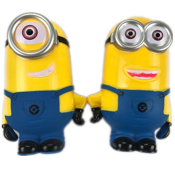 Minion Adorável 3D Minions Figuras Dos Desenhos Animados Cofrinho Caixa de Dinheiro hucha Poupança De Moeda Centavo Penny Crianças Brinquedo Do Bebê brinquedo mealheiro