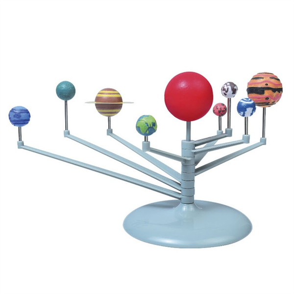 Wholesale- Nine Planet Solar System DIY Painting Toy Science Education Instruction Media