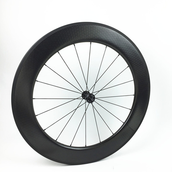 bicycle wheelset 700c carbon dimple surface wheels 80mm clincher wheel Cycling carbon wheels China carbon wheelset