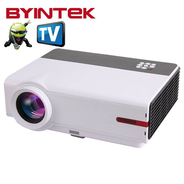 Wholesale-Smart Projector BL104 Home Theater High definition 1080P TV Video HDMI LCD fuLL HD LED Built-in Android Wifi Airplay Proyector