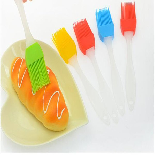 best selling Candy Colorful Silicone Bakeware Basting Brush Pastry Bbq Brush Oil Brush Cream Brushes Cake Utensil Bread Cooking