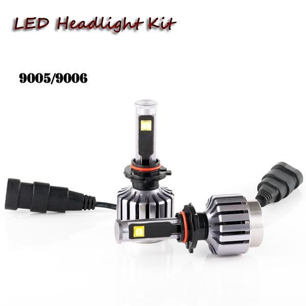 H1 H4 H3 H7 H11 9005 9006 high power auto LED headlight kit bulb car headlamp replacement kit automobile 6000k fog light bulb