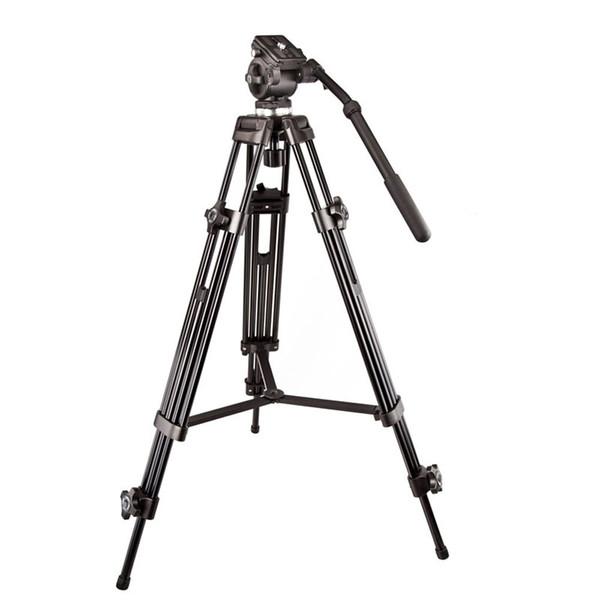 Original Weifeng WF717 Professional Heavy Duty Video Camcorder Tripod DSLR Camera Tripod with Fluid Head for by DHL