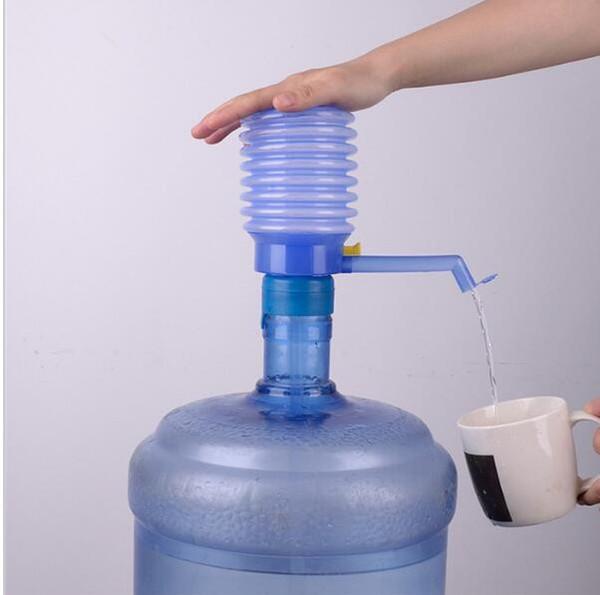 Taşınabilir El Basın Içme Suyu Pompası Çıkarılabilir Tüp Manuel Pompa Dağıtıcı Şişelenmiş İçme Suyu El Basın Kılavuzu Pompa KKA1860