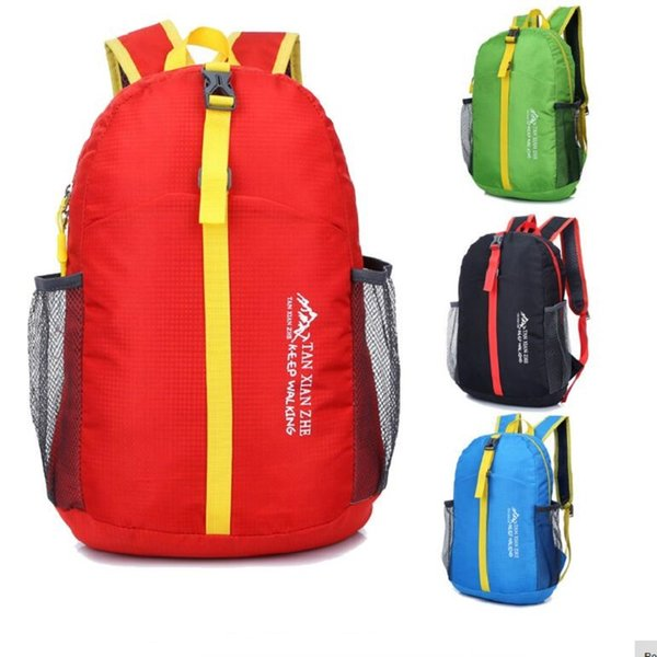 Wholesale New Ultralight Foldable Waterproof Backpack Outdoor Hiking Camping Travel Sport PackBag School Backpacks Free Shipping