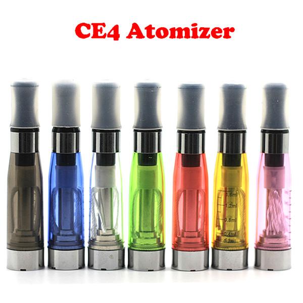 CE4 Atomizer 1.6ml 2.4ohm Atomizer For EGO-T Battery ego CE4 ego-t ego-w ego-c twist All 510 Clearomizer DHL Free