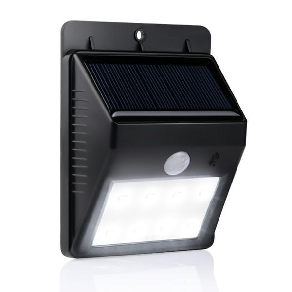 8 led solor light