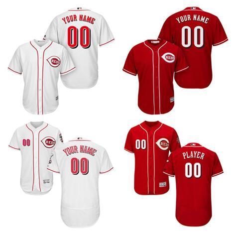 484f130b4 Custom Cincinnati Reds Sports Throwback mlb Cheap Baseball Jerseys Johnny  Bench Fashion Men Youth Women Flex