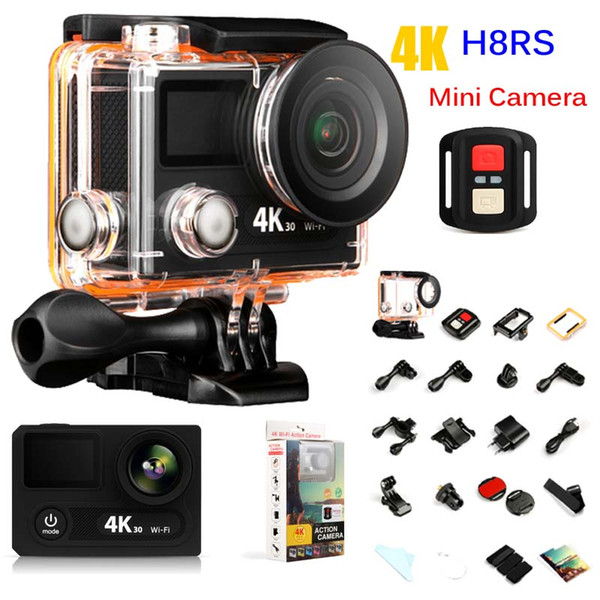 H8RS Mini Camera Extreme Sports Action Camera 4K 1080P WIFI Waterproof Smart DV VR Video Recorder