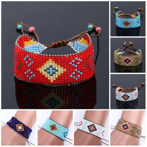 Beads Bracelets Handmade Friendship Wrap Cotton Friendship Bracelet Woven Rope String Friendship Bracelets For Women Charms Bracelets