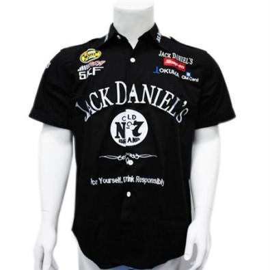 top popular Embroidery F1 Shirt Supercar Racing Cotton Shirt for Jack Dennis Motorcycle shirt C38 2019