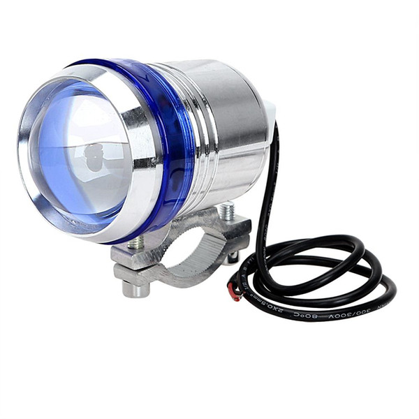 LED Motorcycle Headlight Head Light For Honda Suzuki Harley Driving Fog Light Angel Eye Lamp U3 High Quality Motor Refit