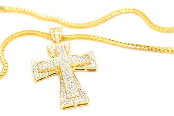 Stainless Steel Jesus Necklace & Pendants Long Rosary Beads Chain Blessed Virgin Mary Christian Catholic Religious Jewelry