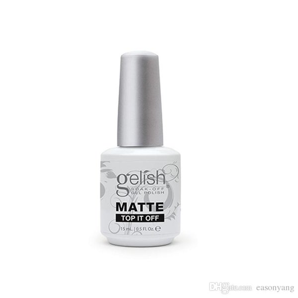 500pcs высокое качество замочить от ногтей гель-лак для ногтей гель-лак Led / uv Harmony Gelish Base Coat Foundation Top coat