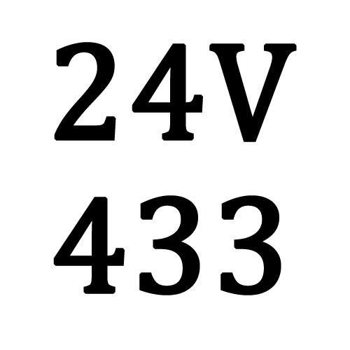 24V 433