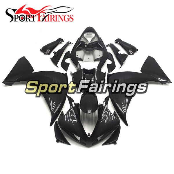 Injection Carbon Fiber Color Fairings For Yamaha YZF1000 YZF R1 2009 2010 2011 Plastics ABS Fairings Motorcycle Fairings Kit Cowls