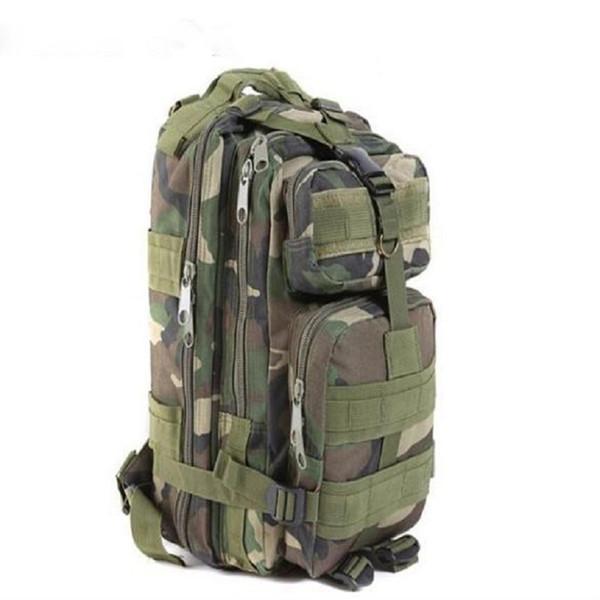 50pcs Hot Sale Men Women Unisex Outdoor Military Tactical Backpack Camping Hiking Bag Trekking Rucksacks, Free DHL/Fedex