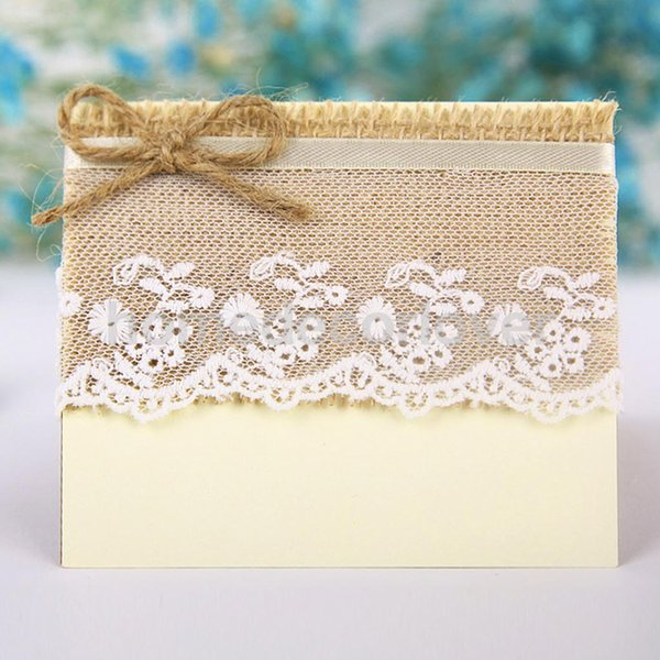 Wholesale- 10x Vintage Wedding Party Lace Table Number/Invitation/Name/Place Cards#1