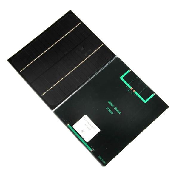 عرض ساخن! 6 واط 18 فولت أحادية الخلايا الشمسية لوحة diy شاحن للطاقة الشمسية ل بطارية 12 فولت 200 * 170 * 3 ملليمتر عالية الجودة 5 قطعة / الوحدة مجانية