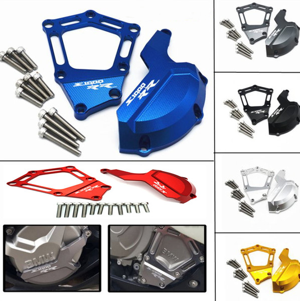 best selling Motorcycle Engine Saver Stator Case Guard Cover Slider Protector For OEM S1000RR HP4 K42 KAA 2009 2010 2011 2012 2013 2014 2015 2016 2017