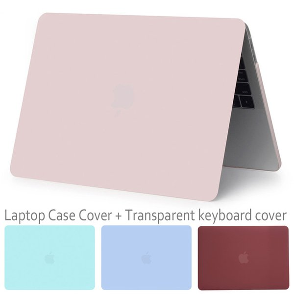 New style laptop Case for Macbook 13 inch Air / Pro Retina / with Touch Bar / CD ROM + Keyboard Cover