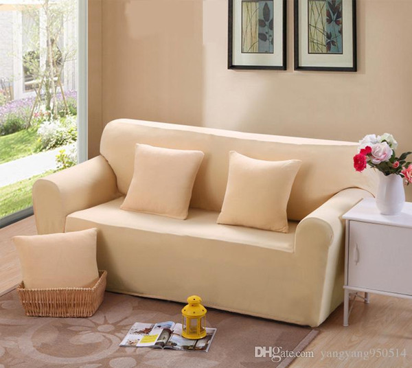 235 310cm Modern Pure Color Fashion Sofa Covers For Living Room Sofa Cover  Stretchable Sofa Cushion Washable Slipcovers Cheap Seat Covers For Kitchen  ...