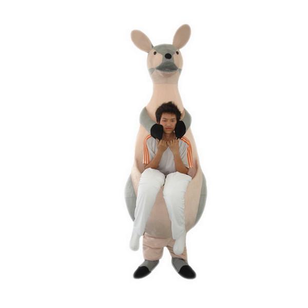 Kangaroo mother Mascot cartoon, factory physical photos, quality guaranteed, welcome buyers to the evaluation and cargo photos