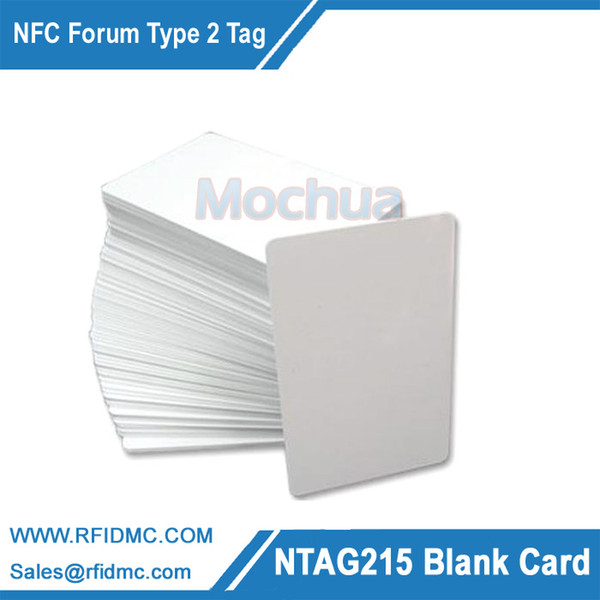 Al por mayor-NTAG215 Tarjeta NFC Forum Tipo 2 Tag para todos los dispositivos NFC habilitados-100pcs