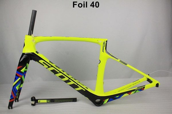 2017 New Foil Carbon Road Bike Frame UD Weave PF30 Bicycle Frameset racing bicycle frames size 47cm 49cm 52cm 54cm