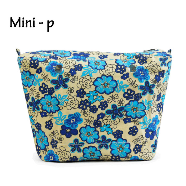 Wholesale- New Colourful Insert Lining Inner Pocket Suitable for Mini Obag O Bag Women's Should Bags Totes Handbags