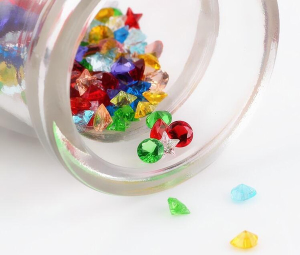120pcs 12color Crystal Beads Small Twinkling Birthstone Floating Charm for DIY Glass Floating Locket Accessories Easter Gifts