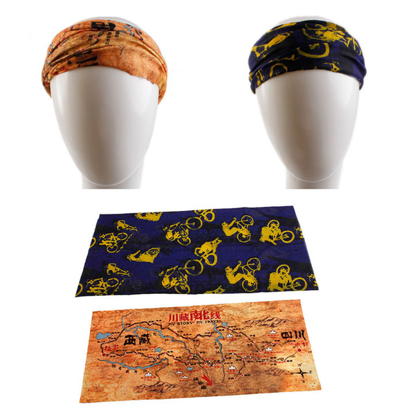 Atacado-1 PC Moda Bandana Tubo de lenço de cabeça Máscara de cara Neck Gaiter Headwear Snood Beanie