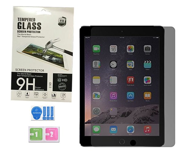 For Ipad 5 6 air air 2 Pro 10.5inch mini Privacy Tempered Glass Screen Protector Film Tablet Screen Protector with Retail Package