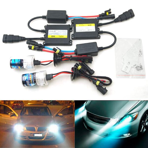 LEEWA AC 12V 35W H1 / H3 / H7 / H8 / H10 / H11 / 9005/9006 Kit HID Xénon Phare De Voiture Ampoule Xénon Lampe Ballast Numérique # 4471