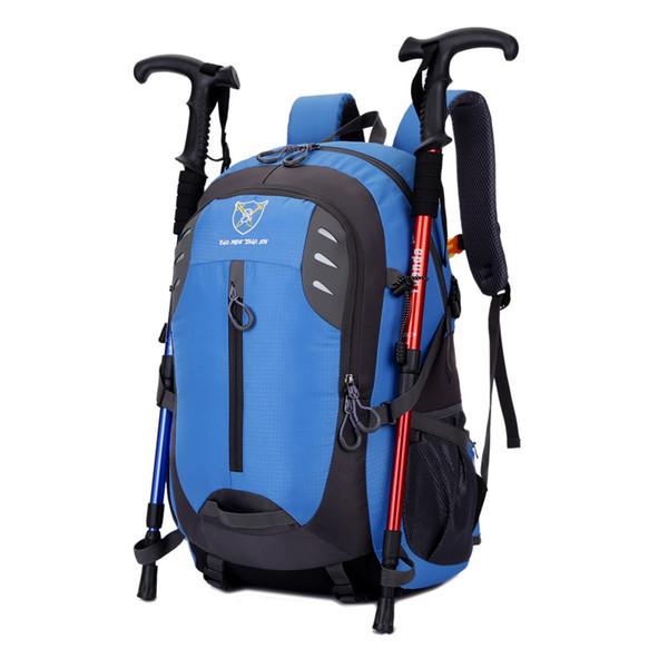 New 4 colors choice 36-55L Large capacity sports backpacks travel bag hike backpack travel backpack camp bag mountain backpack