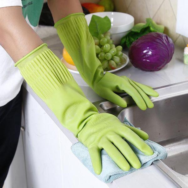 Средства для мытья посуды латексные резиновые перчатки бытовые перчатки защитные посуда чистящие средства