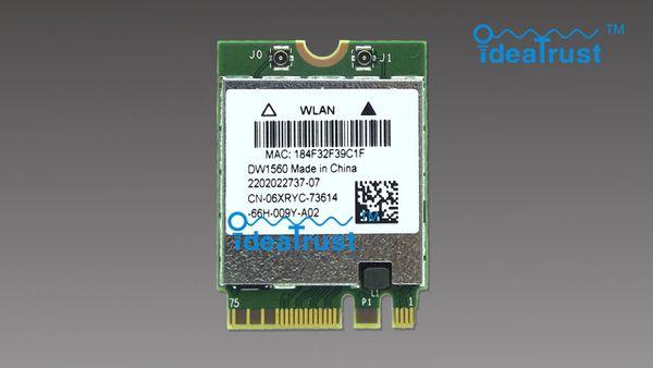 Großhandels-nagelneues DW1560 BCM94352Z 06XRYC 802.11ac NGFF M2 867Mbps BCM94352 BT4.0 WiFi drahtlose Netzwerkkarte