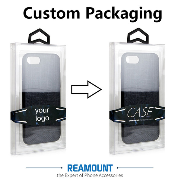 150 pcs Universal Retail Packaging Package Box for iPhone 7 7 Plus mobile phone case crystal clear PVC package box