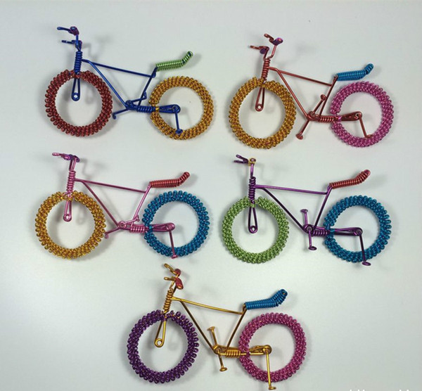 New Creative Bicycle Model Toy, Classic Handcrafted Work of Art, Personalized Presents, for Kid' Birthday Party Gift, Collecting, Decoration